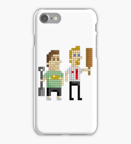 Shaun of the Dead - Pixel Art iPhone Case/Skin