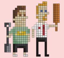 Shaun of the Dead - Pixel Art One Piece - Short Sleeve