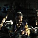 knitting towards freedom by Amagoia  Akarregi