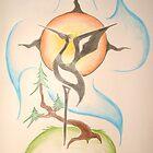 """Ajijaak """"Crooked Tree"""" by KBelleau"""