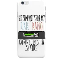 Car Radio |-/ iPhone Case/Skin