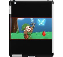 Link Freya and the Master Sword! iPad Case/Skin