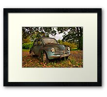 Old Glory - Renault 4CV Framed Print