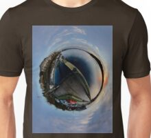 Foyle Marina at Dawn, Stereographic Unisex T-Shirt