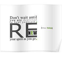 Renew Poster