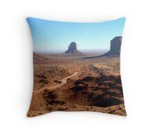 More Monument Valley Throw Pillow