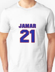 National football player Jamar Fletcher jersey 21 T-Shirt