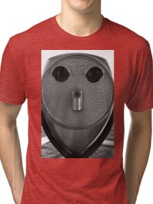 From An Alien Encounter - A Message For 2015 ©  Tri-blend T-Shirt