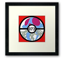 Pokemon 073 Framed Print