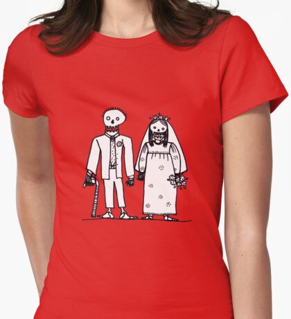 getting hitched Womens Fitted T-Shirt