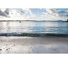 Relax wave Photographic Print