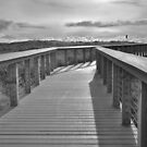Walkway at the Oregon Coast. by pdsfotoart