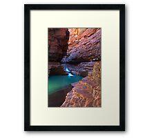 Kermits Pool Framed Print