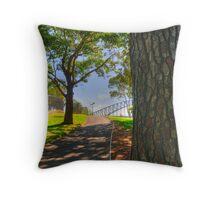 Botanic Walk Throw Pillow