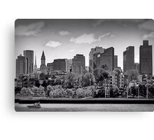 Waterfront Boston Canvas Print