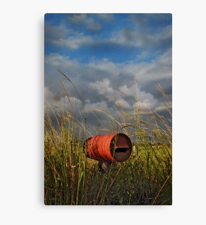 between the wish and the thing, life lies waiting Canvas Print