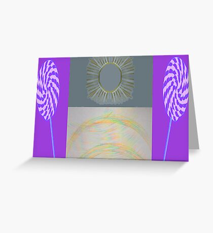 Sunshine, Lollipops & Rainbows Greeting Card