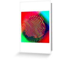 finger 2 Greeting Card