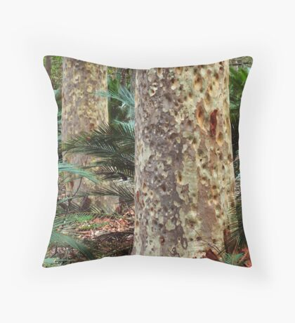 Spotted Gum - Mimosa Rocks National Park Throw Pillow