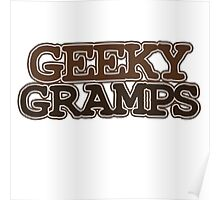 Geeky Gramps Poster