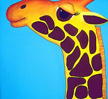 Giraffe of Happiness by Katie Weychardt