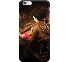 Mikasa Attack on Titan iPhone Case/Skin