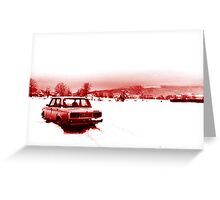 Lonely Lada Greeting Card
