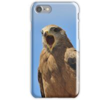 Yellow Billed Kite - Calling all Friends iPhone Case/Skin