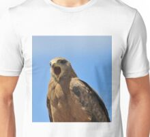 Yellow Billed Kite - Calling all Friends Unisex T-Shirt