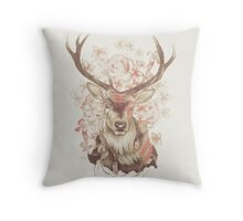 Stag of my Dreams Throw Pillow