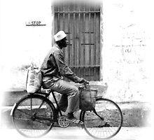 The streets of Zanzibar by Liv Stockley