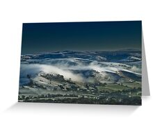 Rolling Mist Greeting Card