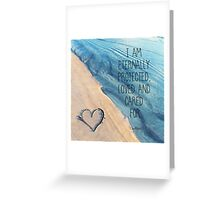 I am Protected Always Greeting Card