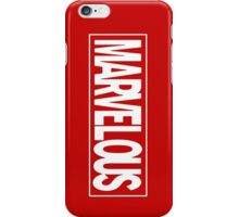 Marvel - ous iPhone Case/Skin