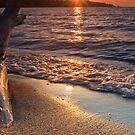 Sunrise over Little Beach by Leisa  Hennessy