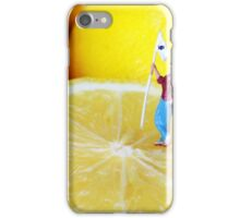 Golf Game On Lemons iPhone Case/Skin