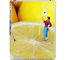 Golf Game On Lemons iPad Case/Skin