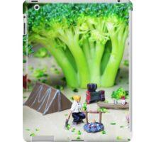 Camping Among Broccoli Jungles iPad Case/Skin