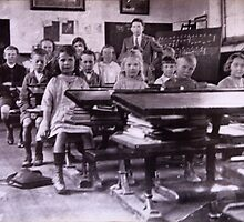 School photo from the 1920's by georgieboy98
