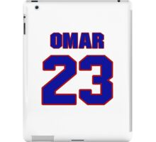 National football player Omar Stoutmire jersey 23 iPad Case/Skin