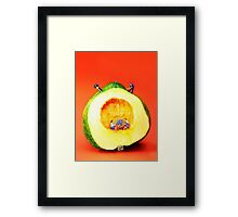 Construction In Life Framed Print