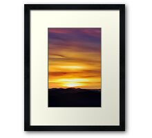 Fruit Tingle Sunrise Framed Print