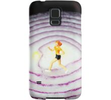 Running On Red Onion Samsung Galaxy Case/Skin