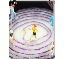 Running On Red Onion iPad Case/Skin