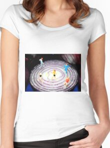 Running On Red Onion Women's Fitted Scoop T-Shirt