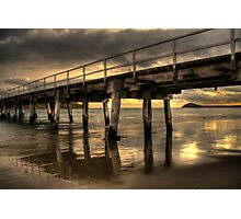 Golden Causeway Photographic Print