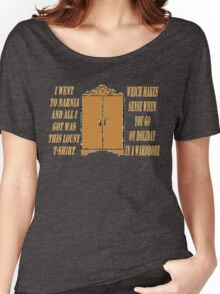 I went to Narnia and all I got was this lousy t-shirt Women's Relaxed Fit T-Shirt