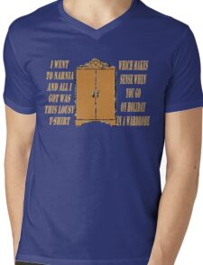 I went to Narnia and all I got was this lousy t-shirt Mens V-Neck T-Shirt