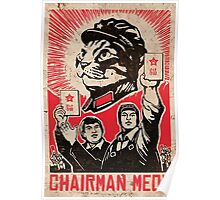 Chairman Meow - Communism - Commie - Mew - Cats Poster