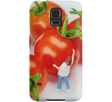 Chefs And Cherry Tomatoes Samsung Galaxy Case/Skin